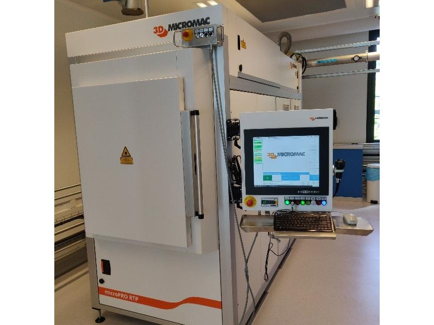Laser tool dedicated to the achievement of ohmic contacts on silicon carbide wafers